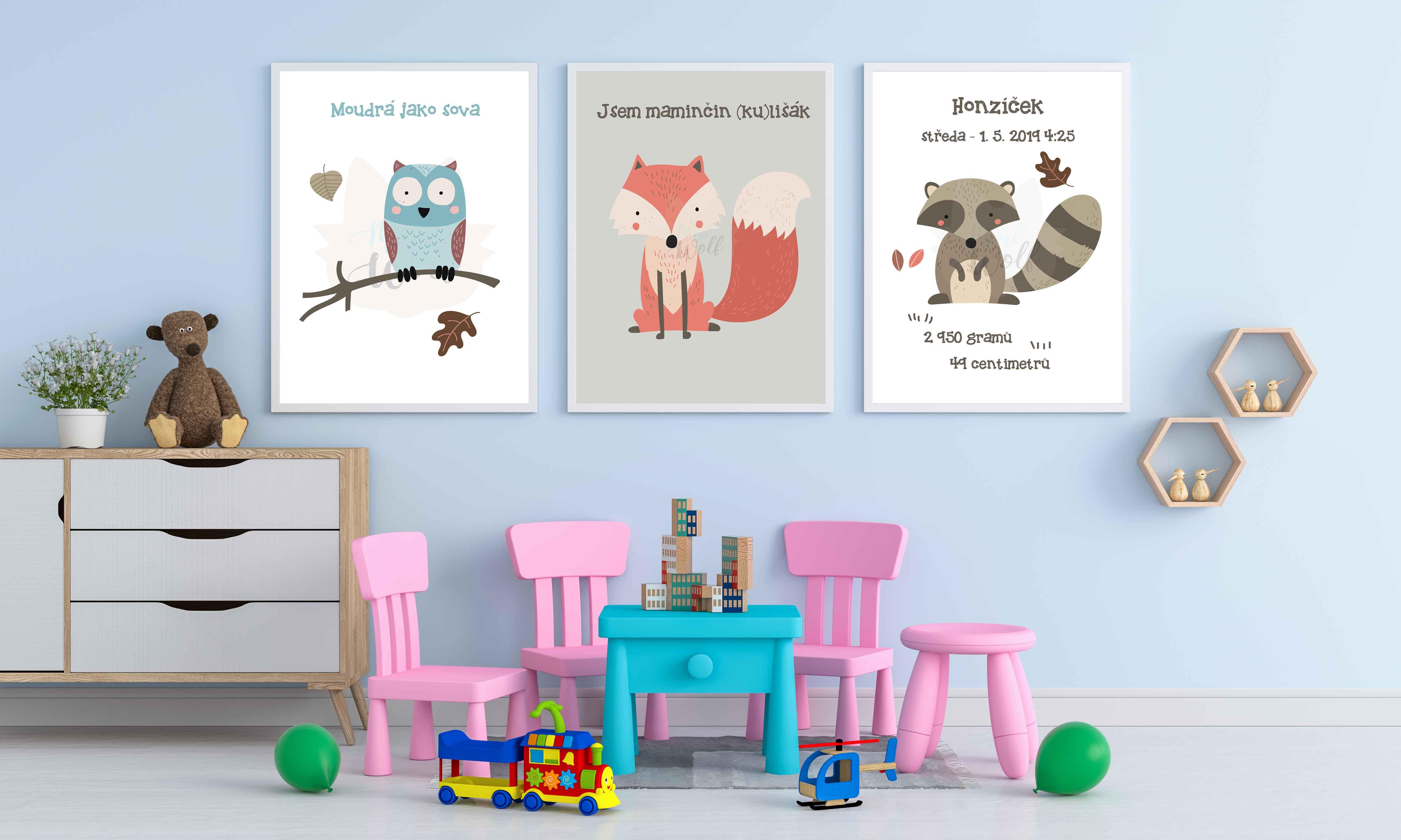 Dětský pokoj s plakáty II